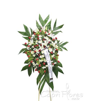1012 Coroa de Flores Mistas