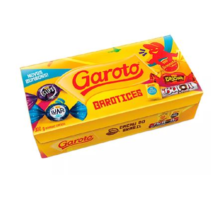 1571 ♥ Caixa de Bombom Garoto