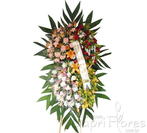 1731 Coroa de Flores Grande Mista