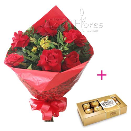 1732 ♥ Buquê de Rosas Dobradas