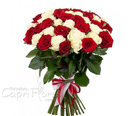 1845 ♥ Buquê de Rosas Duo