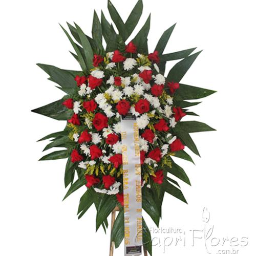 2060 Coroa de Flores entregue em Curitiba