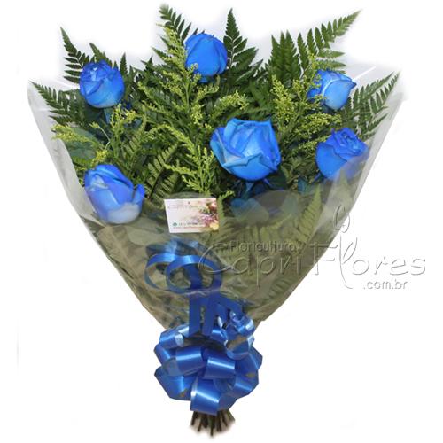 2265 Buquê de Meia Duzia Azul