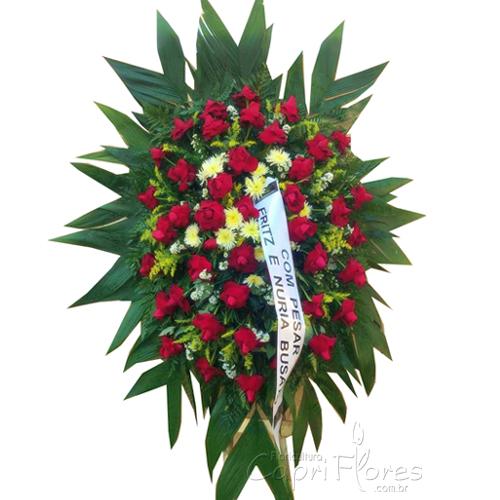 2418 Coroa de Flores para Homenagear