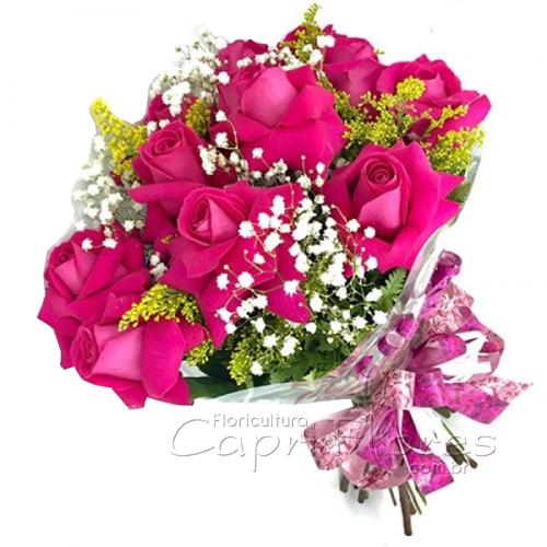 3035 Buquê de Rosas Pink Dobrada!!