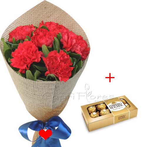 3414 ♥ Meia Dúzia de Cravo + Ferrero