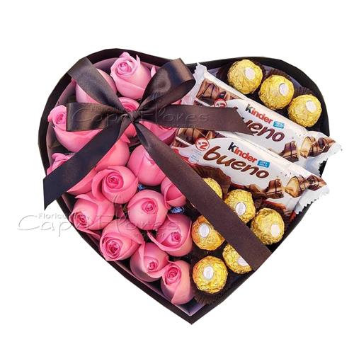 3427 ♥ Box Coração Doçura ♥