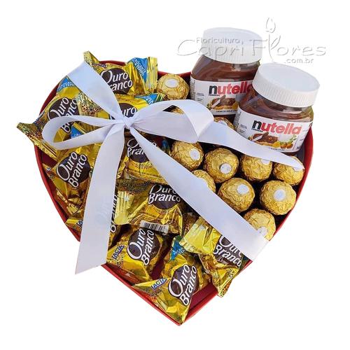 3428 ♥ Box Coração Delicinha ♥
