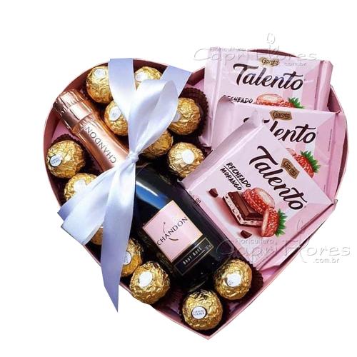 3432 ♥ Box Coração Romântico ♥
