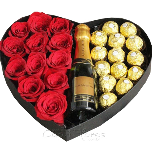 3434 ♥ Box Coração Apaixonado ♥