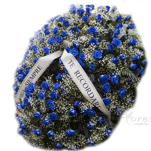 3472 Coroa de Rosas Azuis