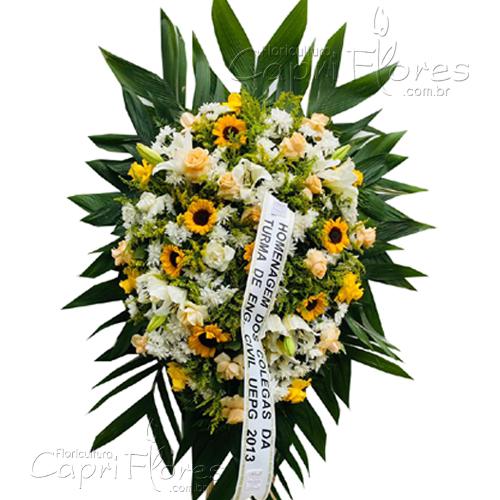 4041 Coroa de Flores com Girassol