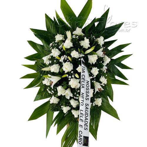 4266 Coroa de Rosas Dobradas e Lírios I