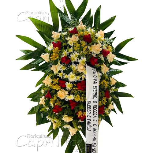 5243 Coroa de Rosas e Flor do Campo I