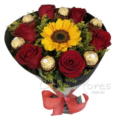 5282 Buquê de Flores Premium