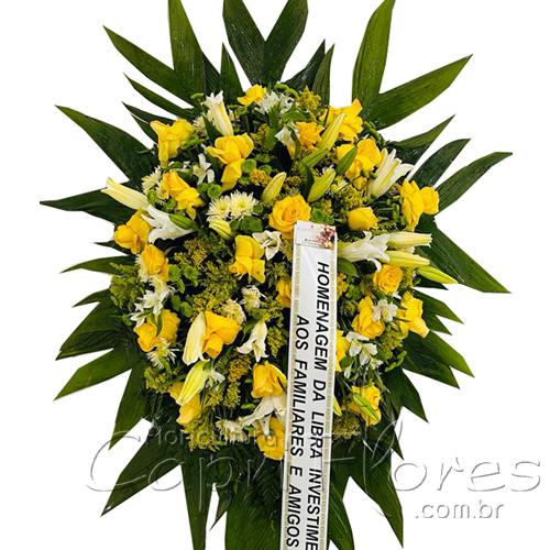 5425 Coroa de Rosas Yellow I