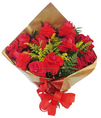 841 Buque Luxo de Rosas Importadas