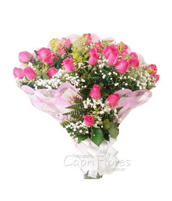 857 ♥ Buquê Luxo Pink