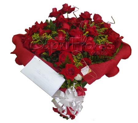 861 ♥ Promoção!!!18 Rosas Dobradas no Buque!