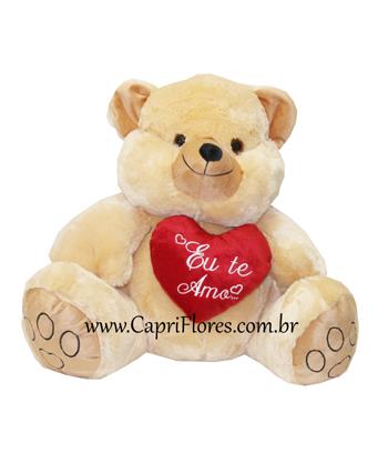 939 ♥ Urso Grande na cor Bege