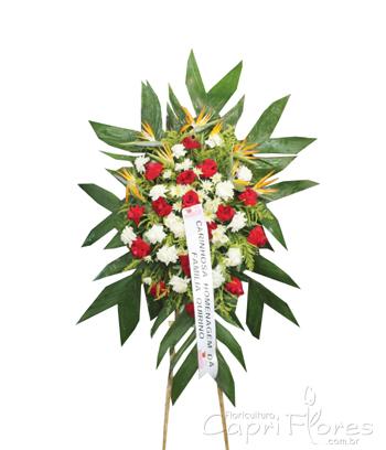984 Coroa de Flores Mista Luxo