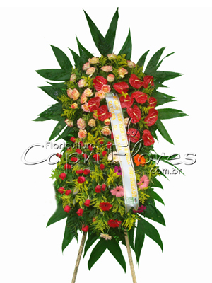 987 Coroa de Flores em camadas